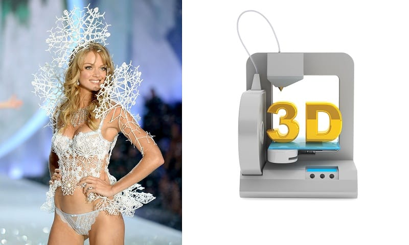 3D Printed Fashion Hits the Victoria Secret Runway 1
