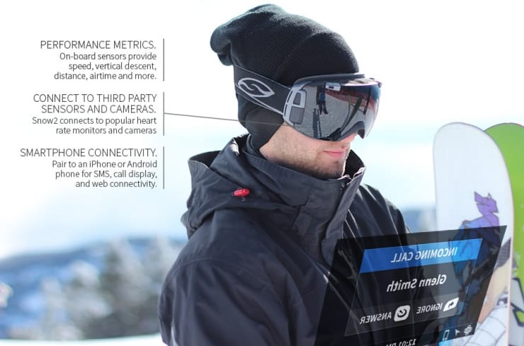 Recon Snow2 HUD Goggles 1