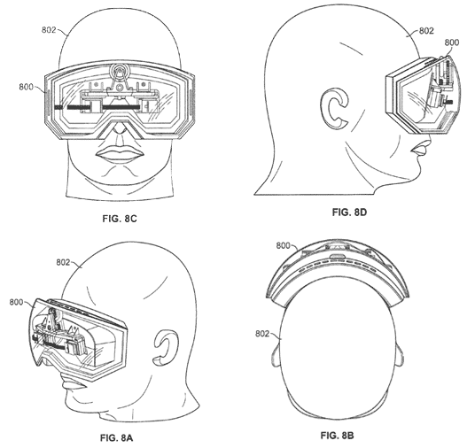 Apple Patent Reveals Forthcoming VR Goggles 3