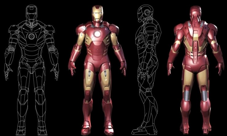This 3D-Printed Iron Man Suit Costs $35,000 9