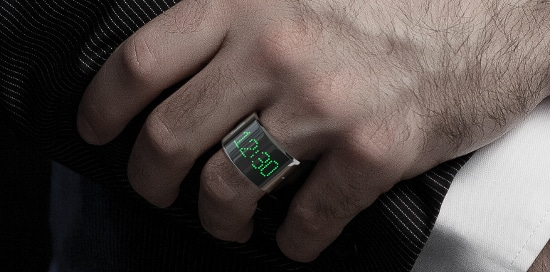 Smarty Ring Features a Snazzy LED Display 9