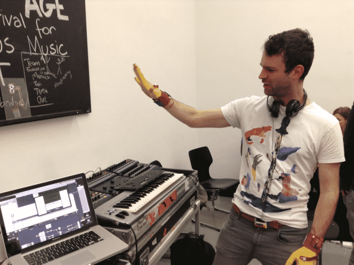 Mi.Mu Glove Lets You Control Music Just With Your Hand 3