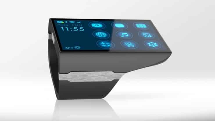 Rufus Cuff Wrist Communicator is a Dick Tracy-like Smartwatch 8