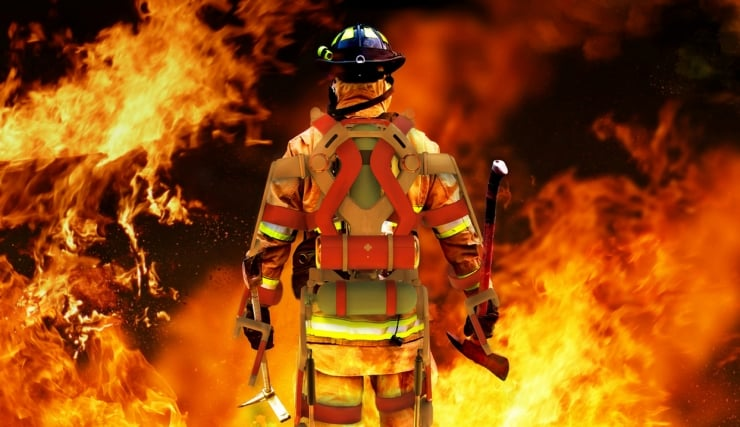 This Exoskeleton Will Turn Firefighters Into Superheroes 2