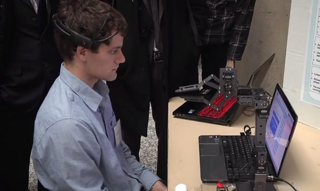Student Creates Gesture-Controlled Robotic Arm 1