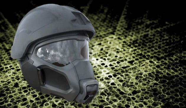 This ARMY Helmet Prototype is Right Out of Halo 3