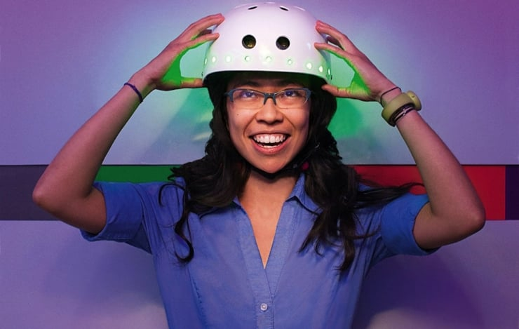 This Bike Helmet Actually Reads Your Mind 2