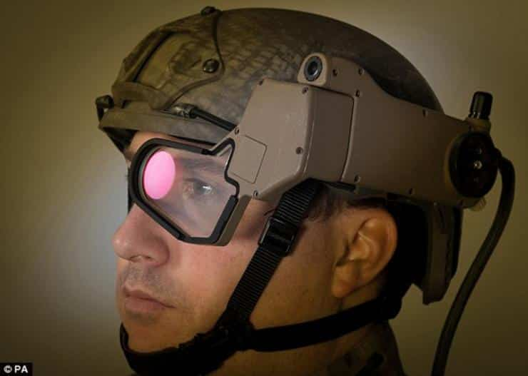 Q-Warrior AR Headset Lets Soldiers See Like Iron Man 3