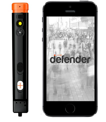 The Defender is a Safety System That Fits in Your Pocket 1