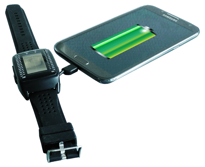 Powerbank Watch Uses Solar Power to Charge Your Gadgets 2
