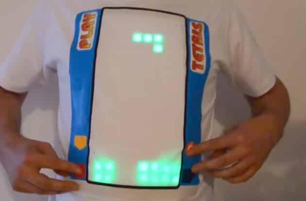 Finally the World Has a Playable Tetris T-Shirt 1
