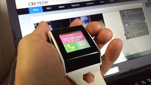 Exetech XS-4 Smartwatch is Untethered From Your Smartphone 3