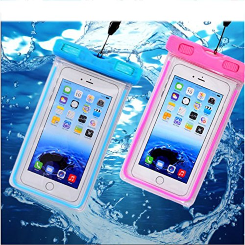 1Pack Blue Universal Waterproof Case, CaseHQ CellPhone Dry ...