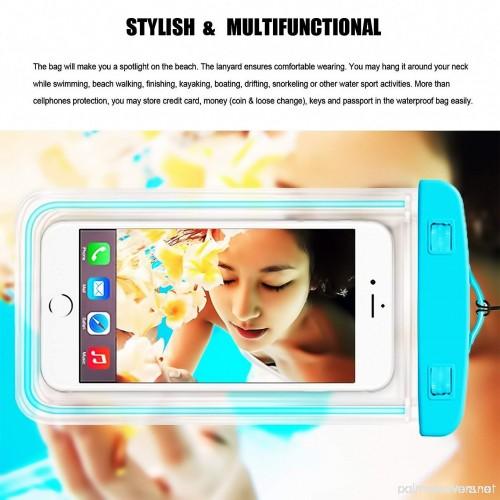 [1Pack Blue+1Pack Pink] Universal Waterproof Phone Case ...