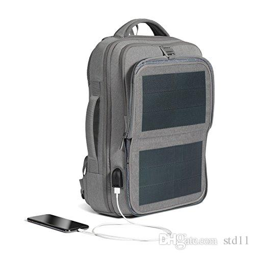 Thin Film Solar Panel Backpack - 9W 3