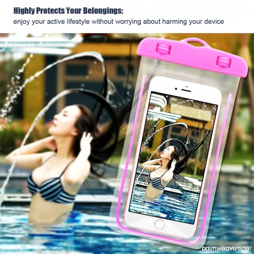 (3Pack) Waterproof Case CaseHQ Universal IPX8 Waterproof ...