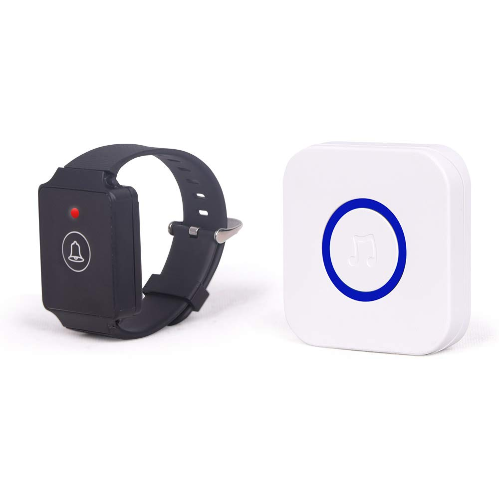 Wireless Caregiver Pager Watch 12