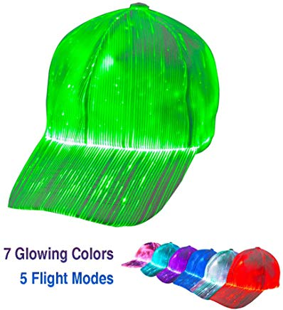 1clienic Luminous LED Baseball Cap 7 Colors
