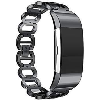 Amazon.com: ANCOOL Compatilbe with Fitbit Charge 2 Bands ...