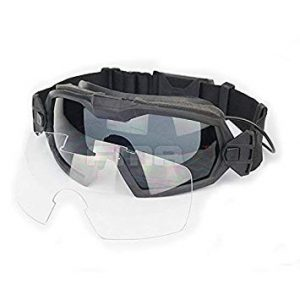 Airsoft Glass Regulator Ski Goggles with Fan 12