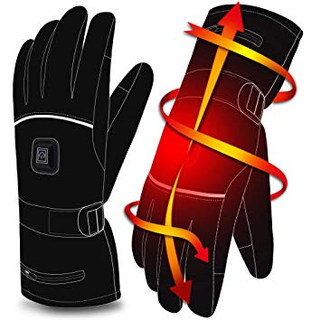 Autocastle Rechargeable Electric Heated Gloves