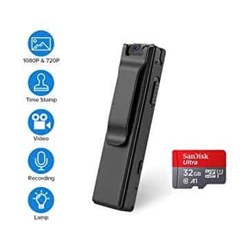 BOBLOV 1080P Mini Body Camera 1