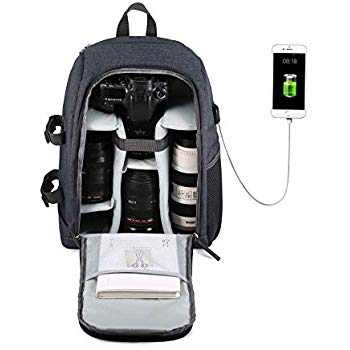 Camera Backpack Waterproof by G-raphy for DSLR ...