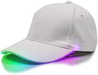 ShiningLove Glow in The Dark LED Unisex Baseball Cap Flashlight