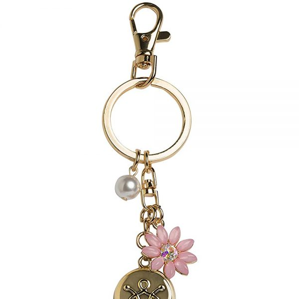 Gold Flower Keychain Personal Safety Device 5