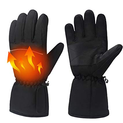 Daintymuse electric battery heated gloves