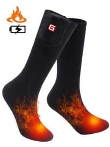 Rechargeable Electric Heated Socks 8