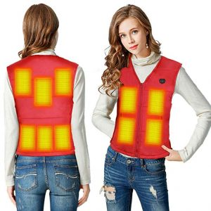 Women's Heated Vest Slim Fit 10