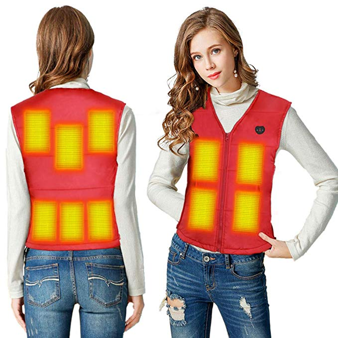 Women's Heated Vest Slim Fit 2