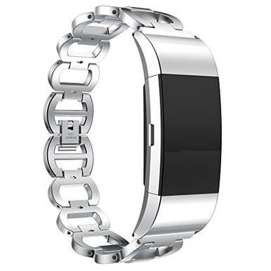 Premium Metal Band for Fitbit Charge 2 10