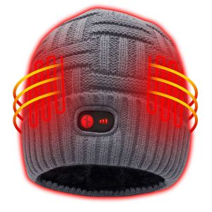 Heated Hat with Rechargeable Battery 10