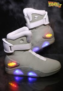 Back to the Future 2 Light Up Shoes 6