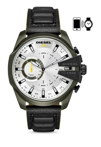 Buy Diesel Diesel Mega Chief Hybrid Smart Watch DZT1012 ...