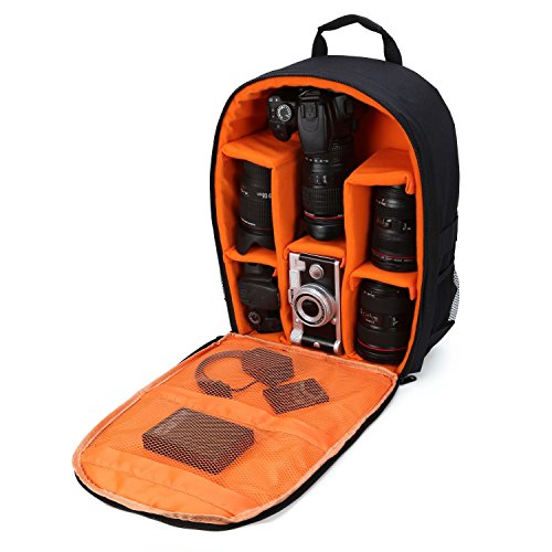 "Camera Bag Camera Backpack Waterproof 16"" X 13"" X 5"" with ..."