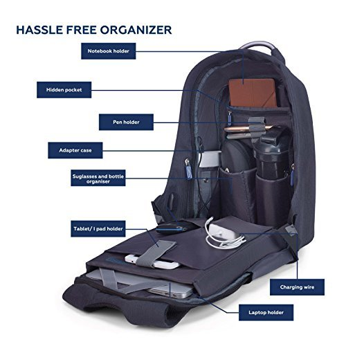 Carriall VASCO Smart Laptop Backpack With Bluetooth ...