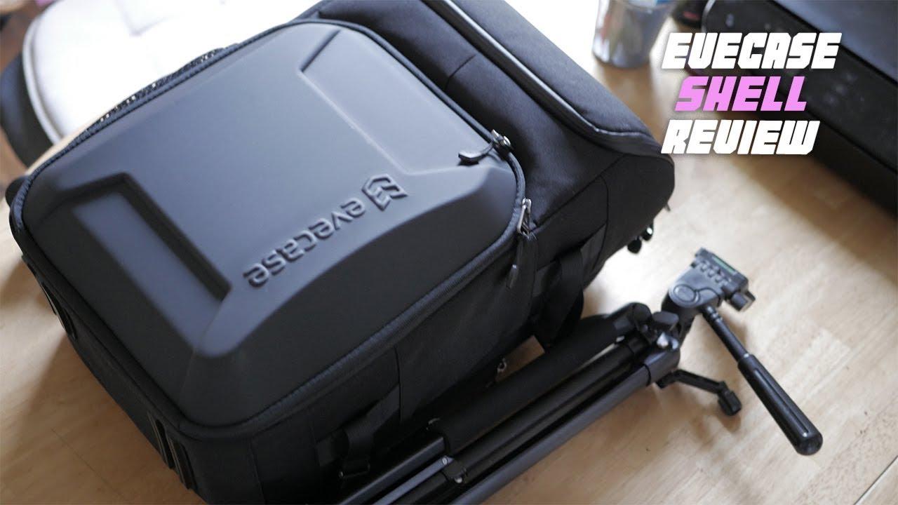 evecase Hard Shell SLR DSLR Camera Bag Backpack