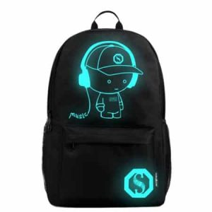 Anime Luminous Backpack 13