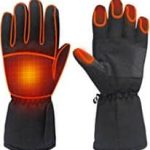 Electric Battery Heated Touchscreen Gloves 2