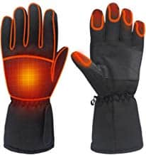 Electric Battery Heated Touchscreen Gloves 11