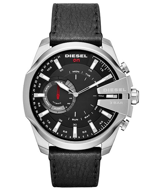 Diesel On Men's Mega Chief Hybrid Smartwatch