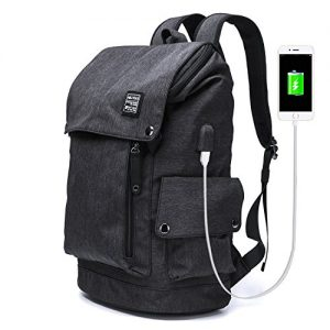 Travel Backpack with USB Charge Port 12