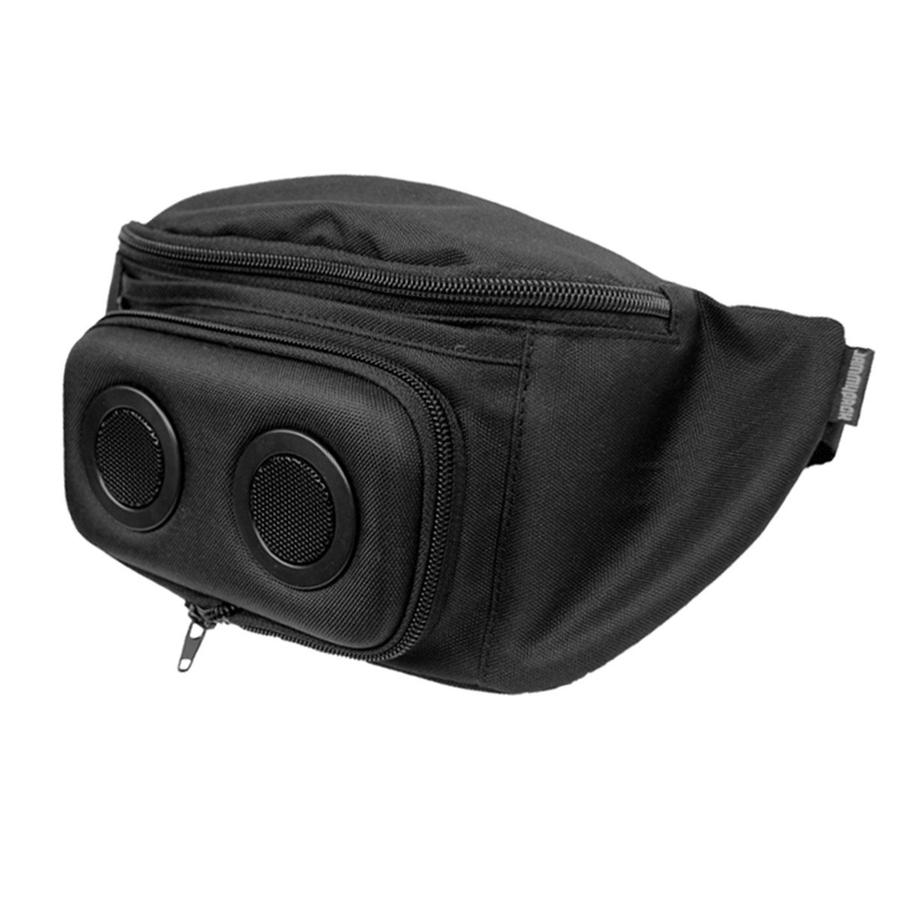 Fannypack with Built-In Bluetooth Speakers - 2019 Grey 1