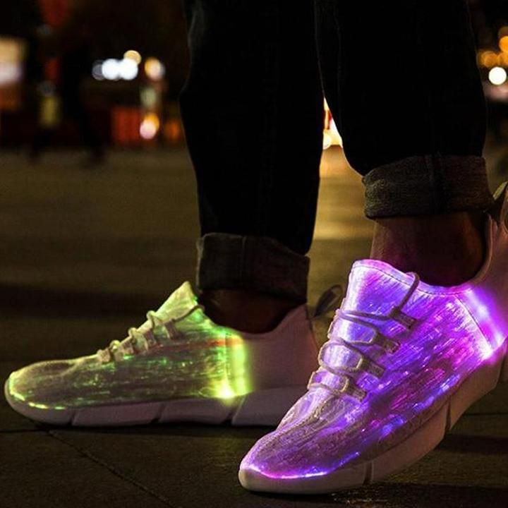 Fiber Optic Led Shoes- 50 % Off -Buy-Today- Yoomoz Store