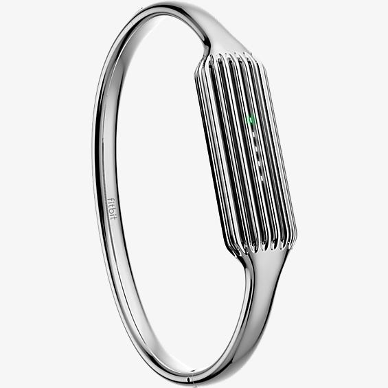 Fitbit Flex 2 Accessory Bangle - Silver - Verizon Wireless