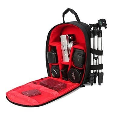 G-raphy Camera Bag (Rain Cover + Tripod Storage) 2