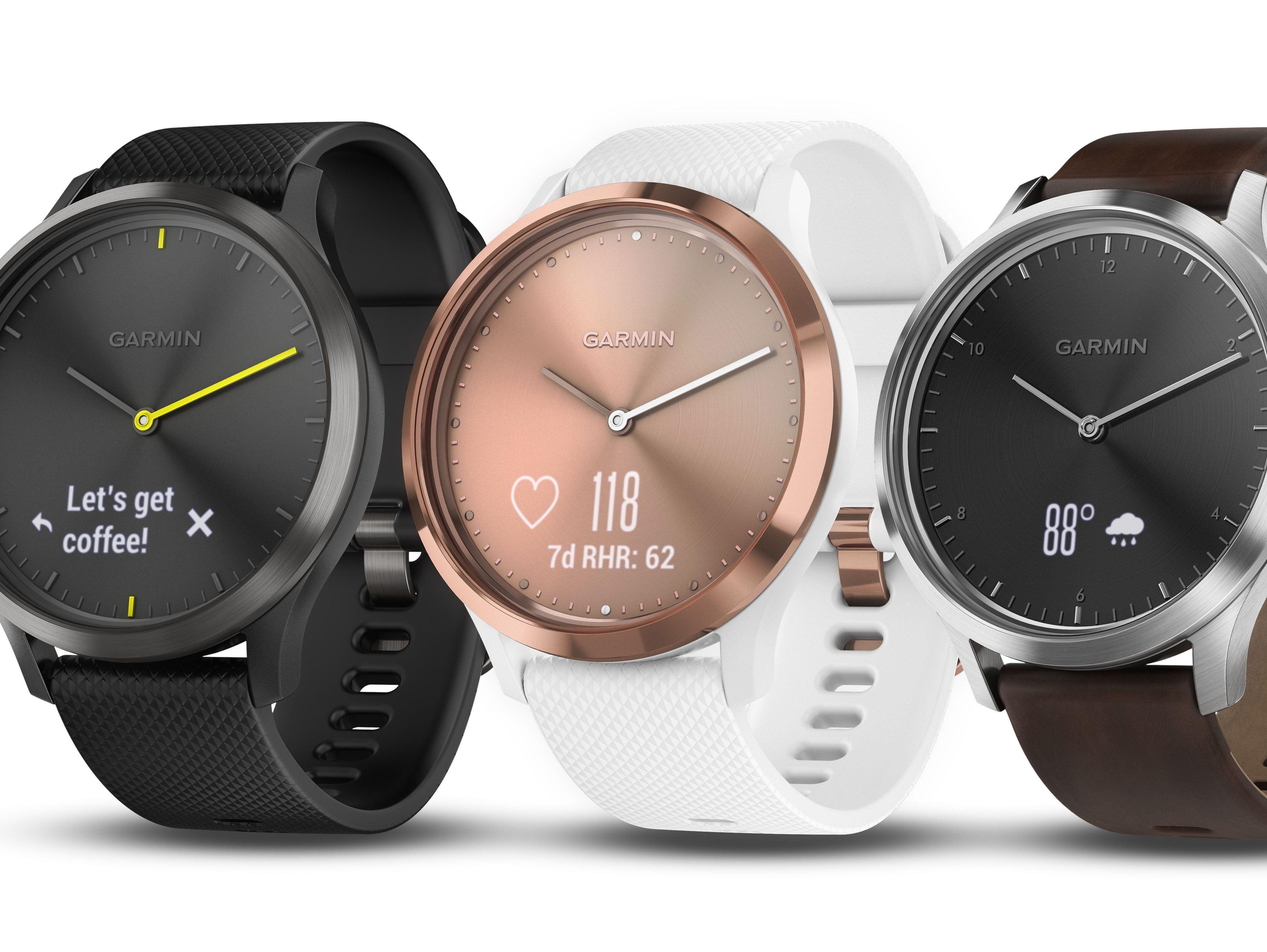 Garmin's Vivomove HR puts a touchscreen on an analog watch ...